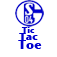 Schalke Tic Tac Toe Icon