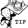 Tip Your Waiter Icon