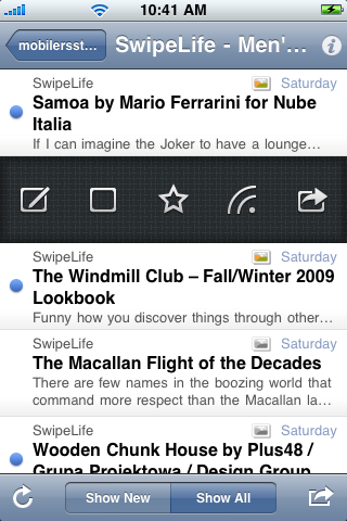 MobileRSS ~ Google Reader