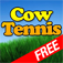 Cow Tennis Game Icon