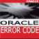 Oracle Error Code