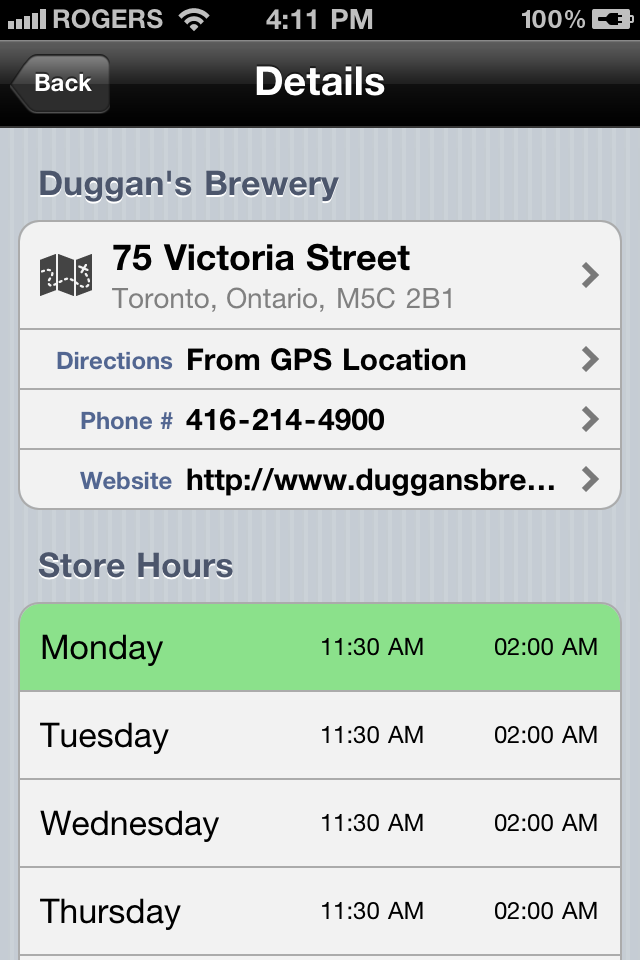 DrinkOwl: Drink Specials & Liquor Store Finder Screenshot