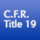 C.F.R. Title 19: Customs Duties Icon