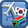 Traveller Dictionary and Phrasebook Korean – Afrikaans Icon