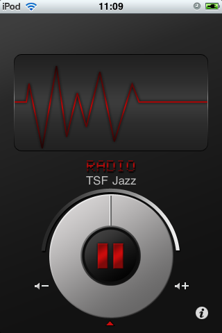 TSF JAZZ Radio Screenshot