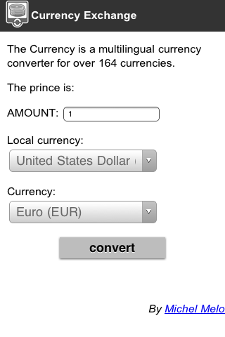 Currency Net Screenshot