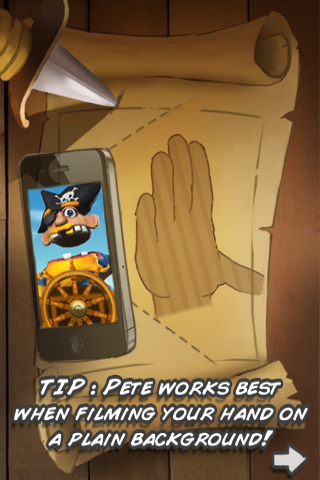 Pirate Pete Screenshot