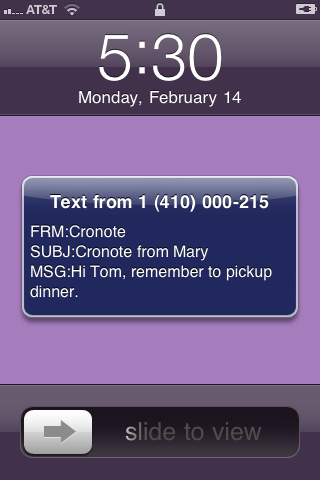 Cronote – Scheduled Messages Screenshot