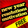 New Years Resolutions Motivation Icon
