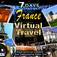 Explore France in Seven Days-Virtual Travel Icon
