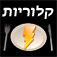 Calories Hebrew Icon