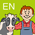 Dicolino – English for Kids: Farm Animals Icon