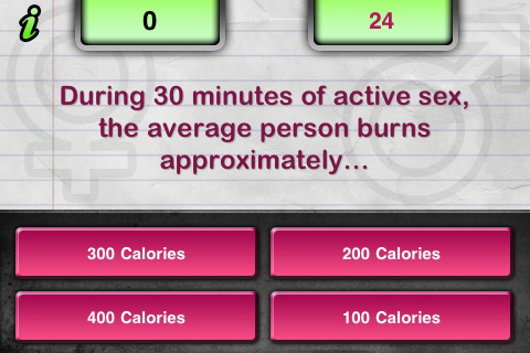 Naughty Moron Quiz Lite Screenshot