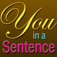 You in a Sentence Icon