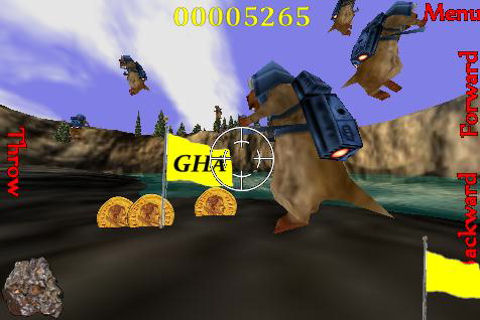 Groundhog Assault 3D Lite Screenshot