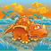 Dinosaur Slide Puzzle Icon