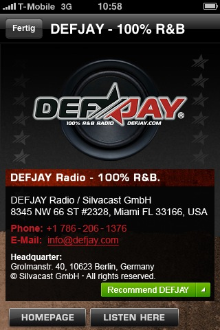 DEFJAY – 100% R&B Screenshot