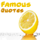 *** Free Famous Quotes *** Icon