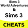 Sims 3 World Adventures & Sims 3 Cheats (Combo Pack) Icon