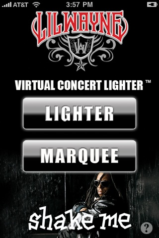 Lil Wayne Virtual Concert Lighter Screenshot