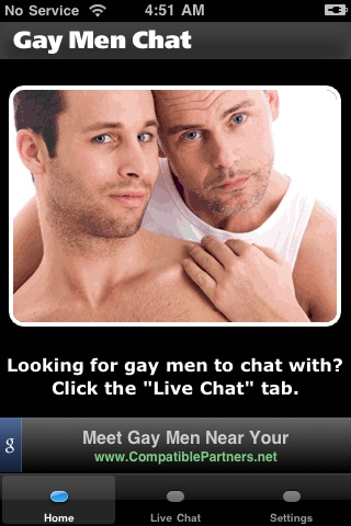 Image of Gay Men Chat for iPhone