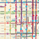 New York Bus Map Icon