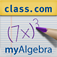 myAlgebra: Solving Quadratic Equations using the Quadratic Formula Icon
