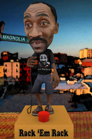 Rack 'Em Rack 3D Talking Bobblehead Screenshot
