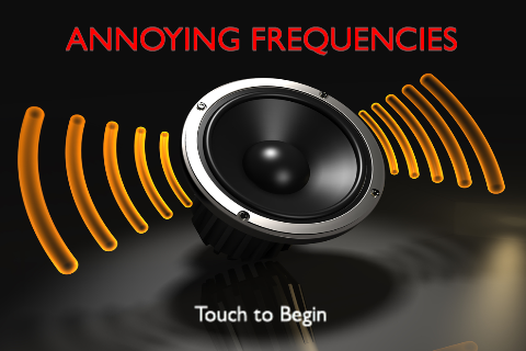 Annoying Frequencies – Hearing Test and Dog Whistle Screenshot
