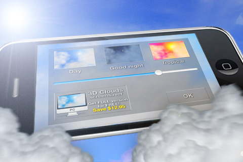 3D Clouds Screenshot