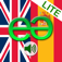English to Spanish Lite - Talking Translator Phrasebook. Echomobi Pocket Dictionary with Voice featuring Phrase Logic. Easy to Learn a Language