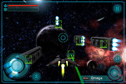 Galaxy On Fire™ 3D Screenshot