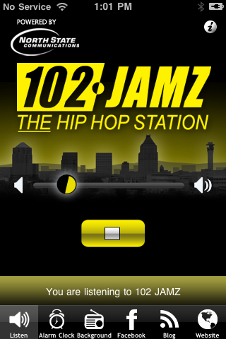 102 JAMZ The Hip Hop Station Screenshot