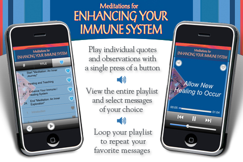 Meditations Enhancing the Immune System – Bernie S. Siegel, M.D. Screenshot