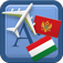 Traveller Dictionary and Phrasebook Montenegrin – Hungarian Icon
