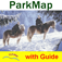 Hohe Tauern National Park – GPS Map Navigator Icon