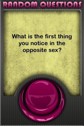 Random Questions Screenshot