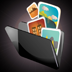 Private Media Folders – Photos, Video & Office Icon