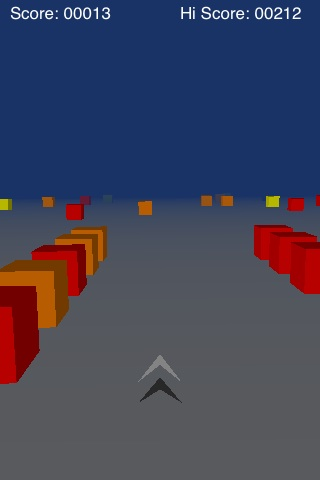 Cube Runner Screenshot