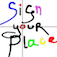 Sign Your Place Color Icon