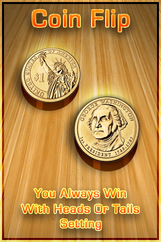 Coin Flip + With Double Sided Coin – You Always Win Screenshot