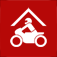 Motor Bike Hotel Finder Icon