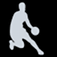 SCRD HRT College Basketball Fans Icon