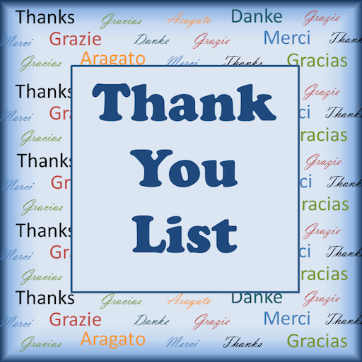 Thank You List
