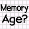 Memory Age Analyzer2 – RETINA DISPLAY Icon