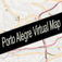 Porto Alegre, Brazil Virtual Map Icon