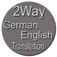 2Way German / English Translation Icon