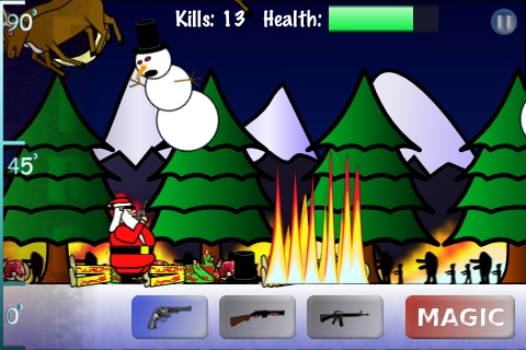 Santa vs Zombies Screenshot