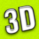 3D ohne Brille Icon