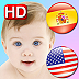 Spanish Baby Cards for iPad!  Learn 200+ Spanish & English Words Icon